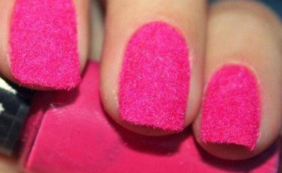 Бархатные ногти