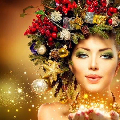 К Новому Году готова! Уход за кожей лица и тела, прически, маникюр, макияж и многое другое в салоне красоты «Афродита»