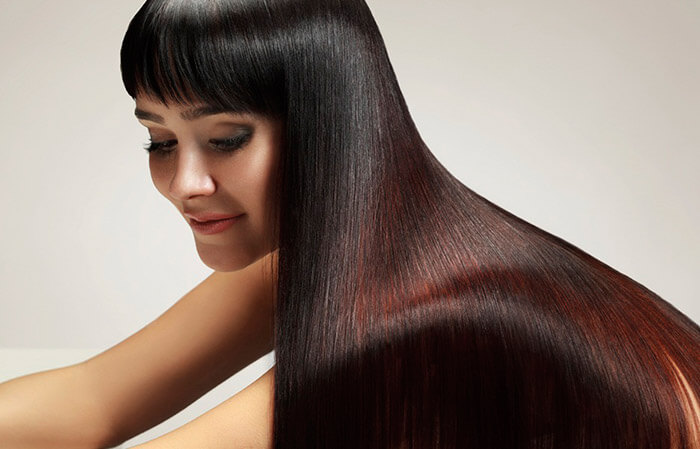 Кератиновое выравнивание волос в Харькове